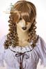 Last Chance: Victorian Lolita/Aristocrat Gothic:Small Vertical Curls Coil Wig*Blonde Mix