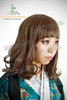 Last Chance: Fine Dull Wig Lolita Curl Hime Cut Medium Length*Sweet Mix Brown-Light