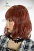 Last Chance: Fine Dull Wig Lolita Curl Hime Cut Medium Length*Victorian Rose Wine Mix Grey