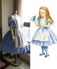 Alice's Adventures in Wonderland Cosplay, Alice  (Novel Illustration)  Dress & Apron Costume Set