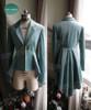 Gothic For Man: Jacket, Vest & Pants Suit Set