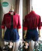 Cell at Work Cosplay, Red Blood Cell WorkSuit Costume Set
