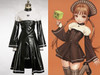 Gothic Witch Girl Leather Outfit