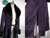 Loveless (Kouga Yun) Cosplay, Soubi Costume, Purple Goth Fur Coat