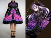 Project Diva Extend Cosplay Haku Yowane Costume Dress