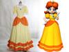 Disney Super Mario Bros. Cosplay, Princess Daisy Costume Outfit