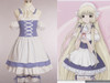 Chobits Cosplay Chii Blue Maid Costume