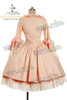 Victorian Rococo Lolita Jacquard Square Neckline Ball Dress*Knee Length, Jacquard