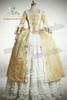 Rococo/Baroque 18th Century Clothing Renaissance Costume Period Costume Vintage Wedding Dress Halloween Cosplay
