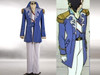 Gundam Wing Cosplay, Lucrezia Noin Elegant Military Uniform Costume