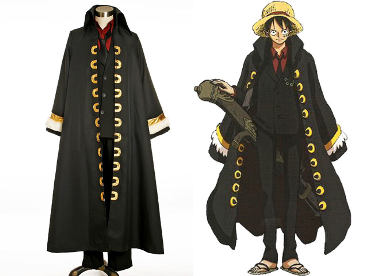 One Piece Movie 10 Strong World Cosplay Monkey D Luffy Costume