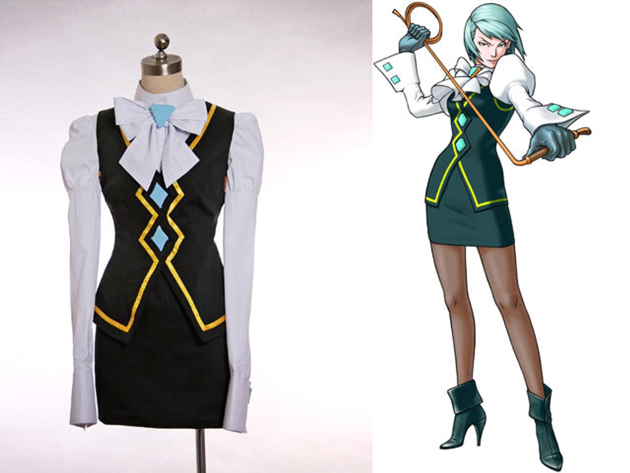 Ace Attorney Franziska von Karma cosplay kostüm
