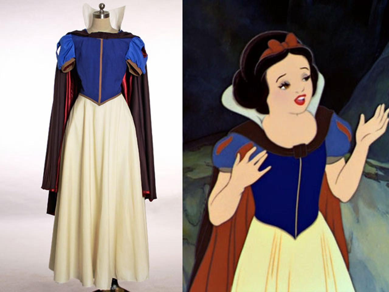 Disney Snow White and the Seven Dwarfs Cosplay, Princess Snow White Costume