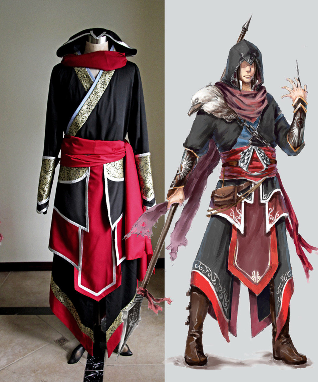 Assassin S Creed Cosplay Ezio Auditore Costume Outfit Set