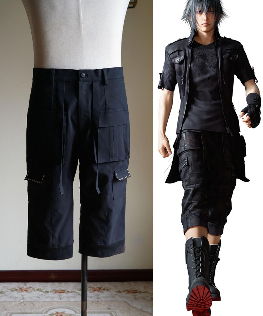 Noctis Lucis Caelum Shirt Costume Cosplay Game Final Fantasy XV  FF15