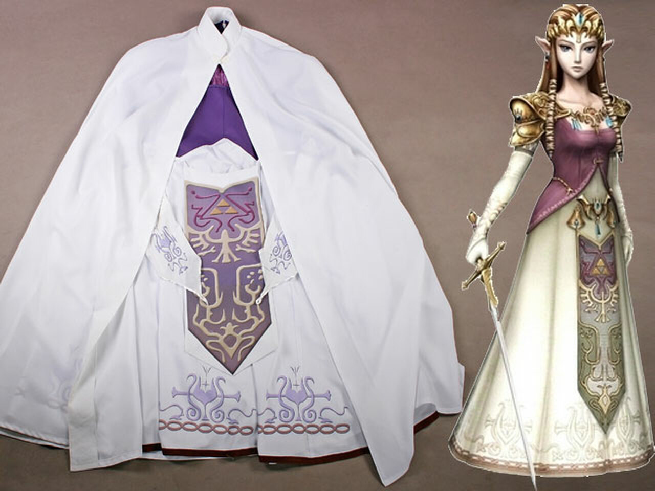 The Legend Of Zelda Twilight Princess Cosplay Zelda Costume