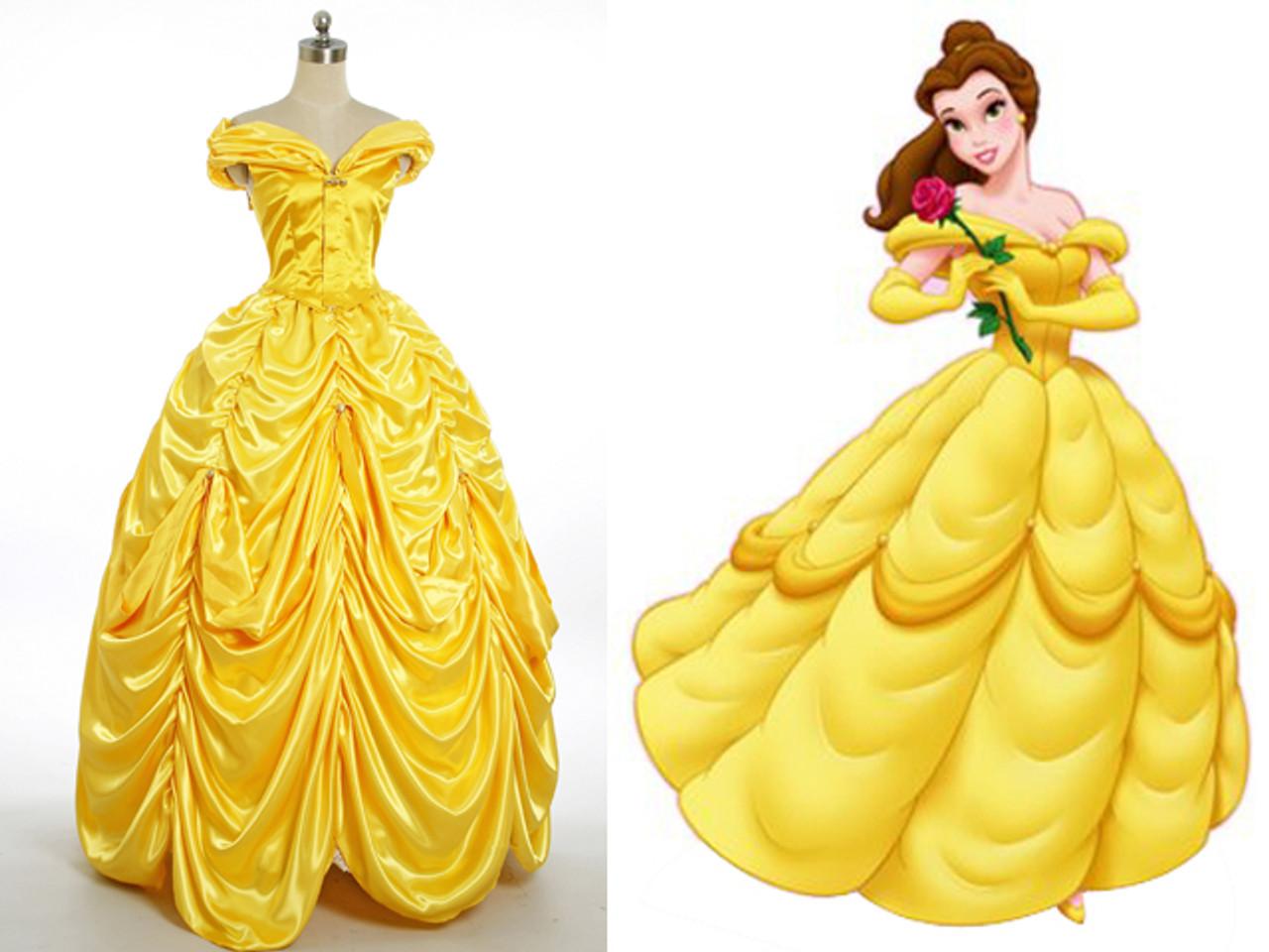 Belle costume disneyland