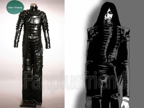 Hellsing Cosplay, Alucard Black Leather Bodysuit Set