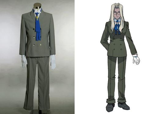 Integral Fairbrook Wingates Hellsing Cosplay, Sir Integra Costume