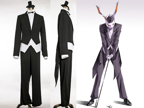 Gothic for Man, Mr. Bunny's Tuxedo Butler Suit*4pcs