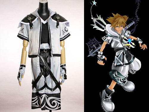 Kingdom Hearts Cosplay, Sora Final Form Costume Set