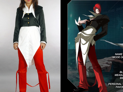 King of Fighters Cosplay: Iori Yagami's Costume set
