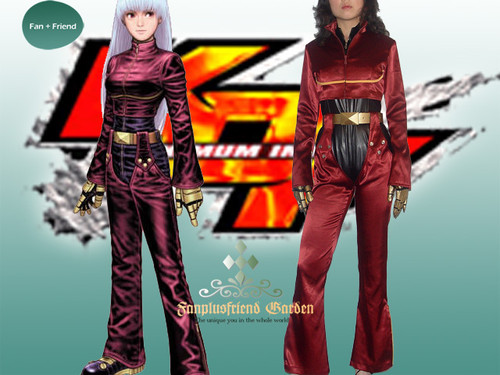 The King of Fighters Cosplay, Kula Diamond Costume Set!
