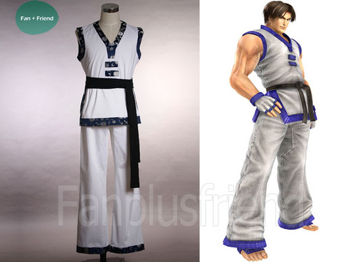 The King Of Fighters Cosplay, Maximum Impact 2 Kim kaphwan's Taekwondo Gui Costume