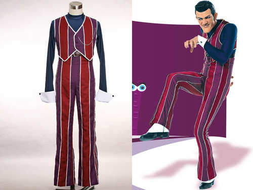 Lazy Town Cosplay, Robbie Rotten Costume Set