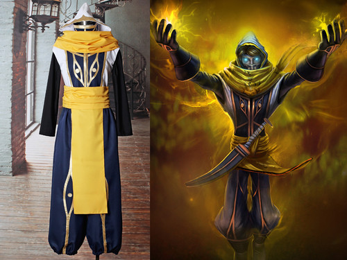 League of Legends (Game) Cosplay Malzahar (Shadow Prince Skin) Costume Set