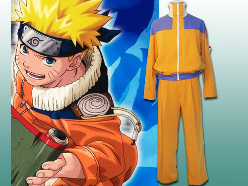 Naruto Cosplay, Uzumaki Naruto's Costume Set