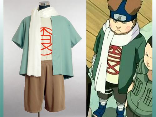 Naruto Cosplay, Akimichi Chouji Costume Set!!