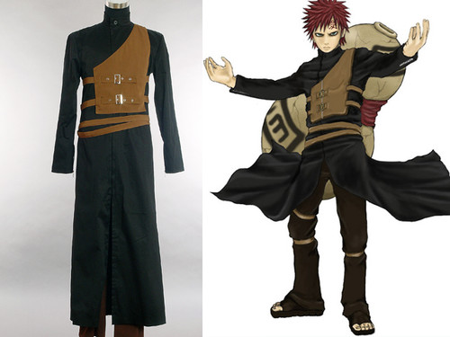 Naruto Cosplay, Gaara Costume Set