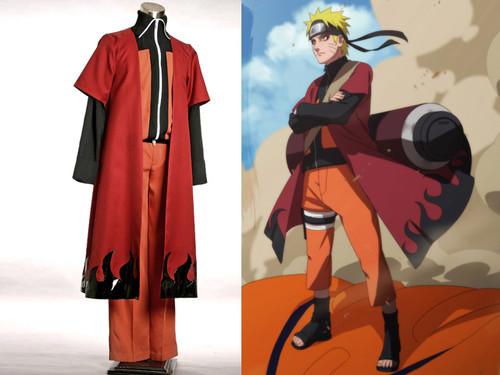 Naruto Cosplay, Naruto Fire Cloak