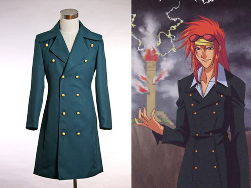 Weiss Kreuz Cosplay, Schuldig's Costume Jacket