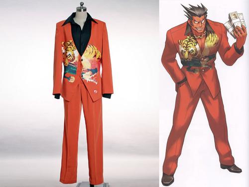 "Phoenix Wright Cosplay, Furio ""The Tiger""  Costume"