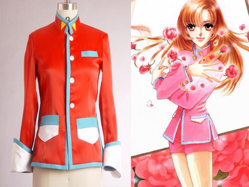 Revolutionary Girl Utena Cosplay, Utena Tenjou, Red Duelist Costume