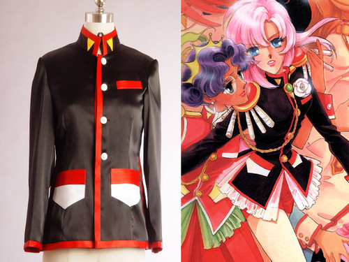 Revolutionary Girl Utena Cosplay, Utena Tenjou, Black Duelist Costume