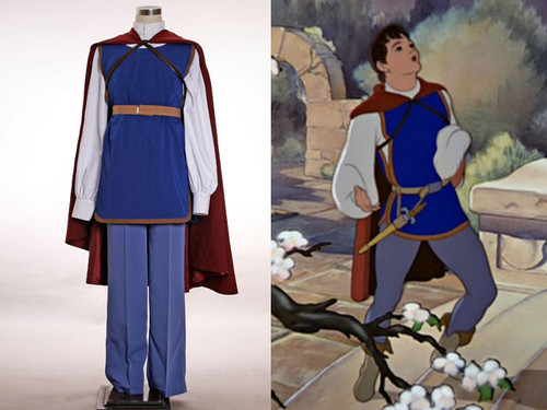 Disney Snow White and the Seven Dwarfs Cosplay, Prince Costume