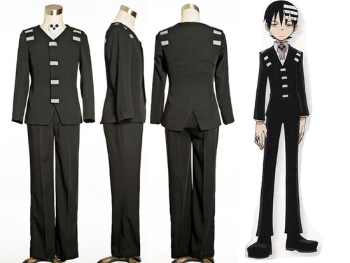 Soul Eater Cosplay Death the Kid Costume Outfit