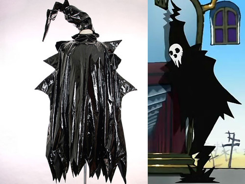 SOUL EATER Cosplay, Shinigami Costume PVC Mantle