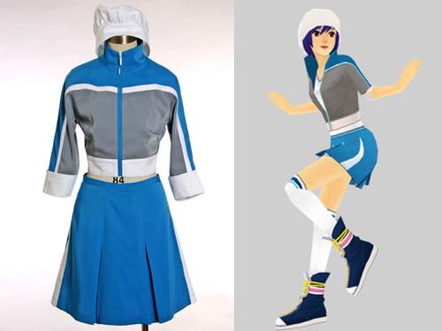 Dance Dance Revolution DDR Game Cosplay, Emi Costume