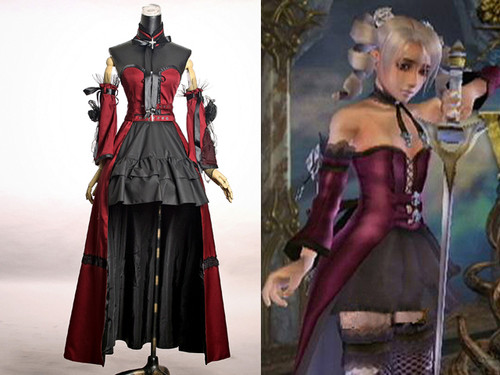 Soul Series/Soulcalibur 3 Cosplay,Amy Sorel Outfit