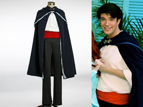 Disney The Little Mermaid Cosplay Prince Eric Costume Outfit