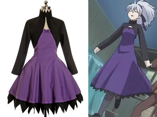 Darker Than Black Cosplay Yin Costume Outfit