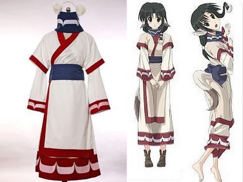 Utawarerumono Cosplay, Eruru Kimono Outfit*4pcs