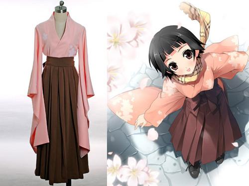 Zetsubou Sensei Cospaly, Matoi Tsunetsuki School Uniform Kimono Set
