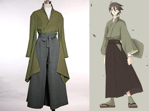 Zetsubou Sensei Cospaly, Nozomu Itoshiki School Uniform Kimono Set