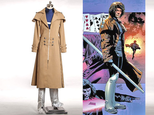 X-Men Cosplay, Gambit (Remy LeBeau) Costume