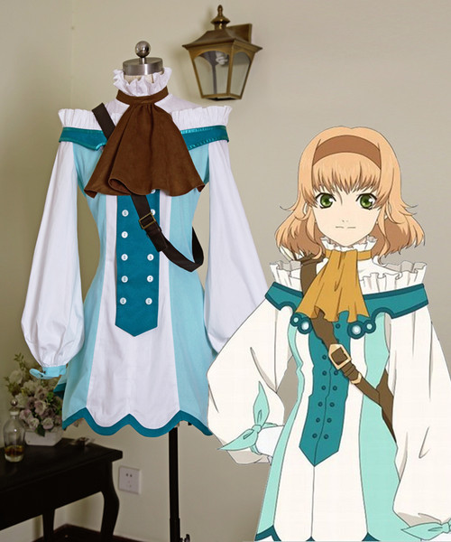 Tales of the Abyss Cosplay Natalia Luzu Kimuelasca Lanvaldear Costume Set